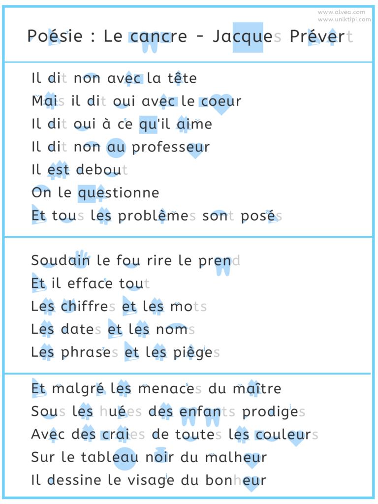Apprendre à lire facilement une poésie grâce aux images associées aux sons et phonèmes